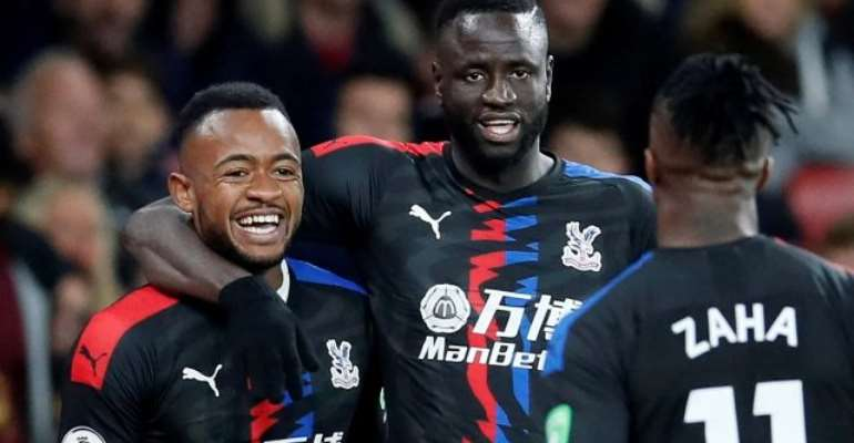 Ghana Striker Jordan Ayew Earns Draw For Crystal Palace At Arsenal