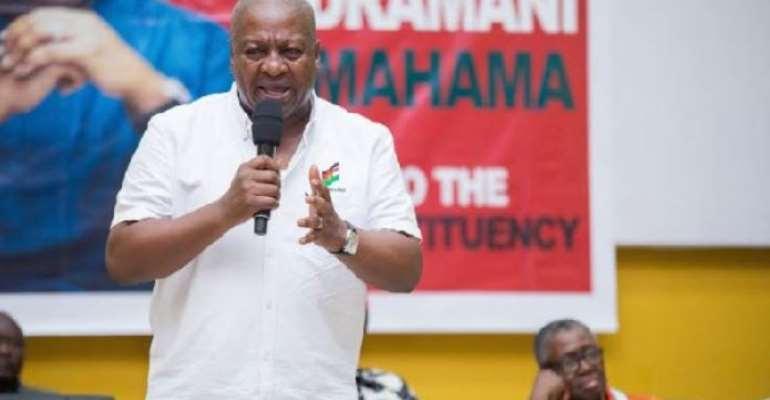 Akufo-Addo, Ken Take Ghana Back To HIPC  – Mahama