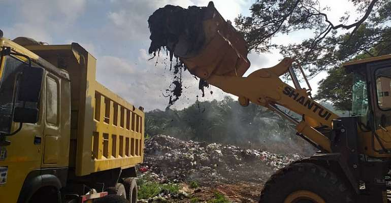 50-Year-Old Dumpsite Evacuated In Cape Coast
