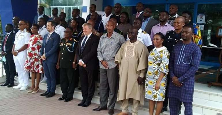 Fighting Maritime Insecurity Needs Collaboration - Commandant Ofori