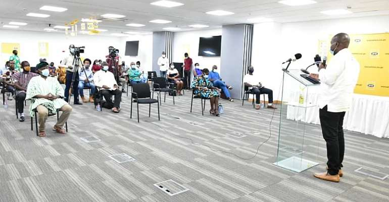 MTN Ghana Partners Folklore Board To Digitize Ghana's Cultural Heritage
