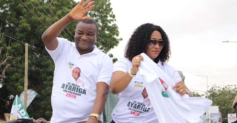 """2020 Elections: """"Waste Your Votes On Me""""…Hassan Ayariga Kickstarts Campaign From Accra"""