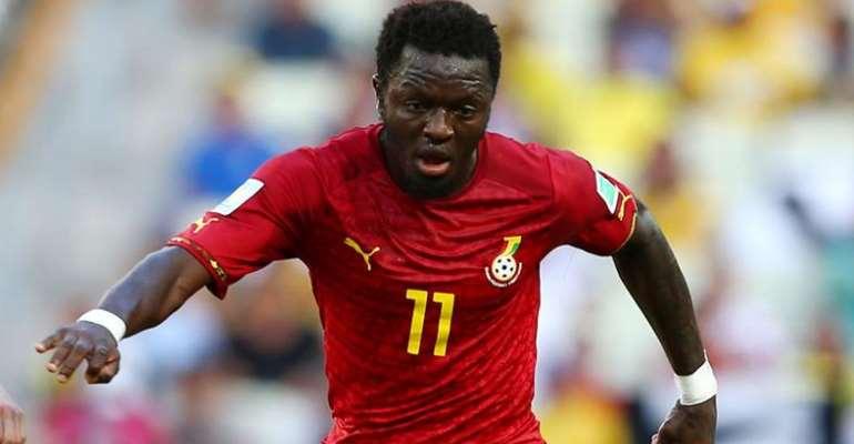 Ghana midfielder Sulley Muntari