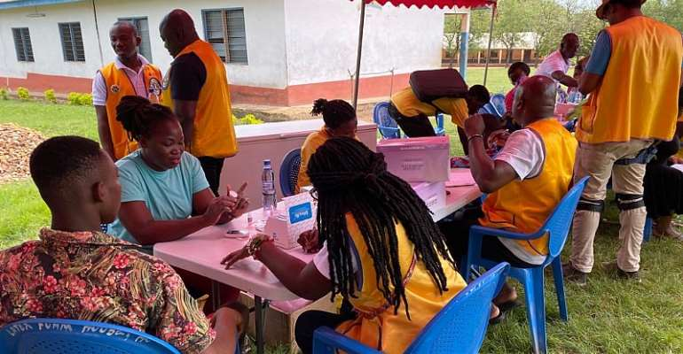 Tema Supreme Lions Club Holds Free Health Screening For Residents Of Shia