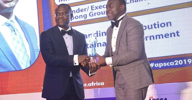 JOSPONG Group, Dr. Agyepong And Others Win APSCA Awards In Ghana