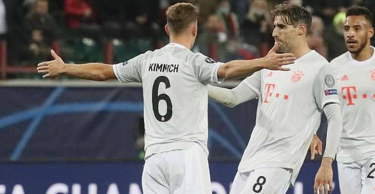 Joshua Kimmich Saves Bayern Munich's Champions League Run In Moscow