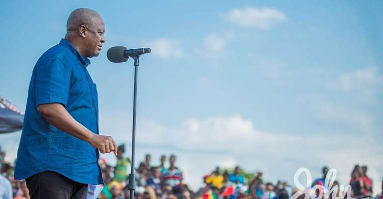 We Estimate GHC1.4b Annually For Free Primary Healthcare – Mahama