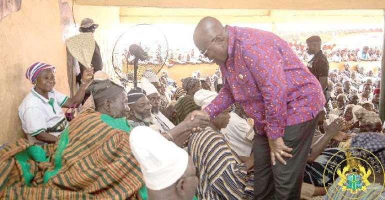 President Akufo-Addo with Nayiri