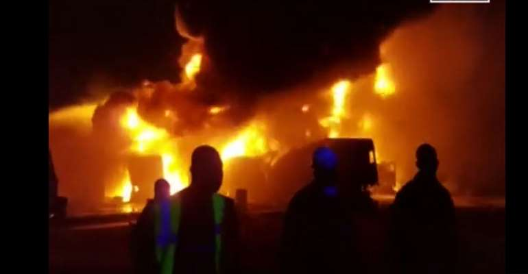 Four Burnt To Death At Amasaman Fise