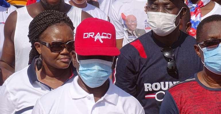 NPP Nkoranza South Holds Health Walk