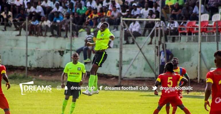 Hearts Shares Spoils With Dreams In Friendly At Dawu