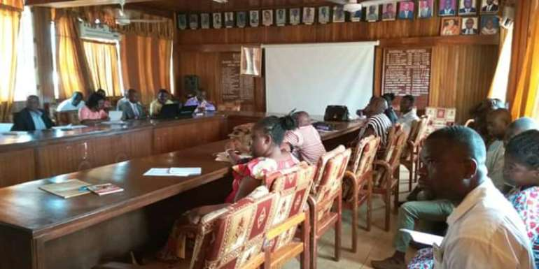 ISD Officers Trained On Information Dissemination For Referendum In Sunyani