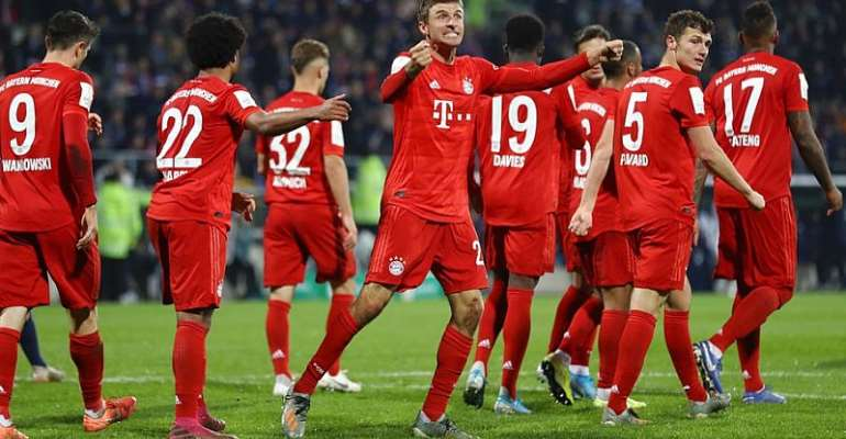 Bayern Survive Scare At Bochum To Reach German Cup Last 16