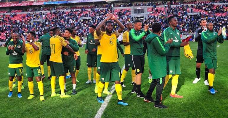 2021 AFCON Qualifiers: South Africa Announce Squad For Ghana Encounter