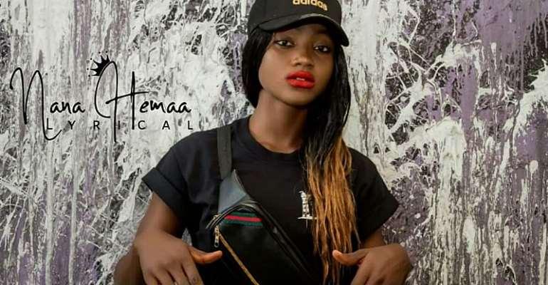Meet Flawless Female Rapper; Nana Hemaa Lyrical
