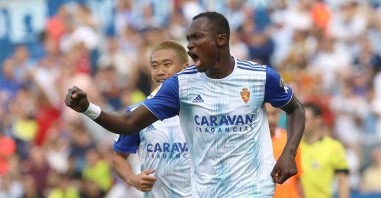 Real Zaragoza To Part Ways Raphael Dwamena After Health Issues?