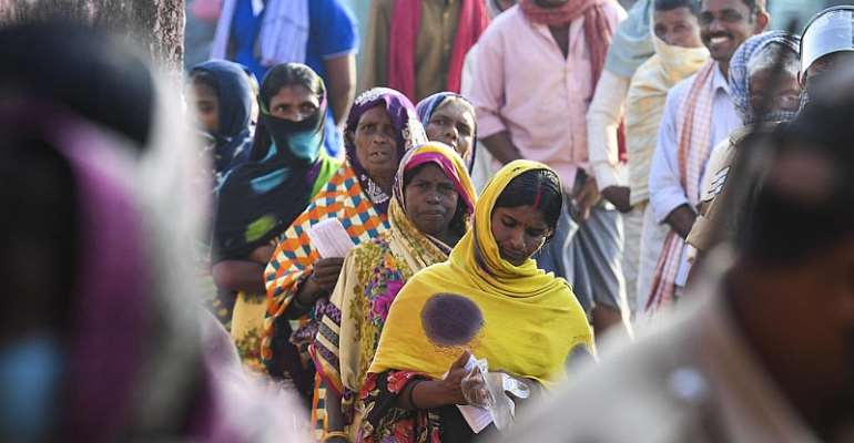 Politicians pledge Covid vaccine as India's Bihar state goes to polls