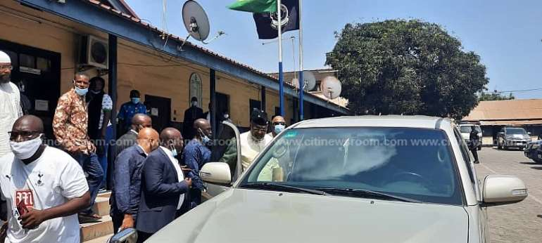 NDC's Said Sinare Processed For Court Over Alleged Guns Distribution