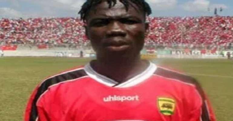 Former Asante Kotoko defender Joseph Hendricks