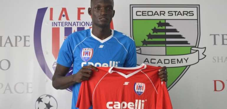Inter Allies FC Capture Signature Of Ali Isah To Bolster Squad