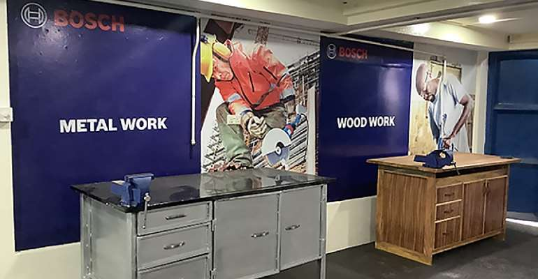 Bosch Ghana's donation modernises ATTC workshop