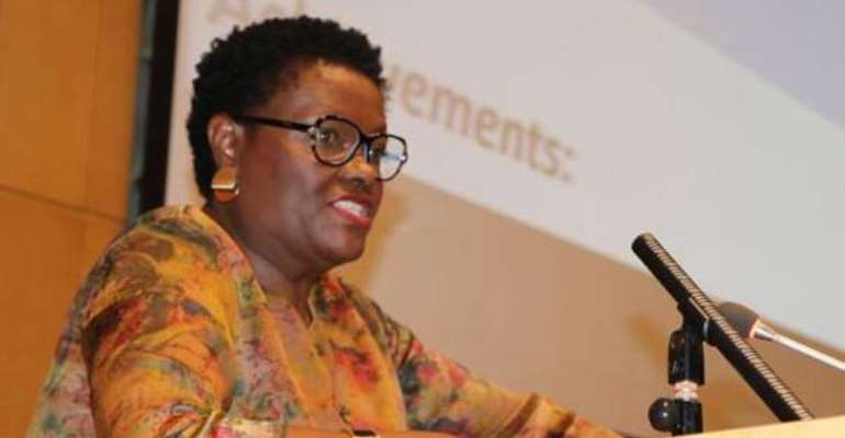 Ms. Thoko Ruzvidzo, Director of the Gender, Poverty and Social Policy Division at the ECA