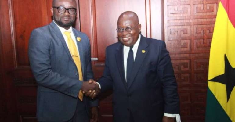 Prez. Akufo Addo Charges New GFA President To Ensure Transparency And Win Trophies