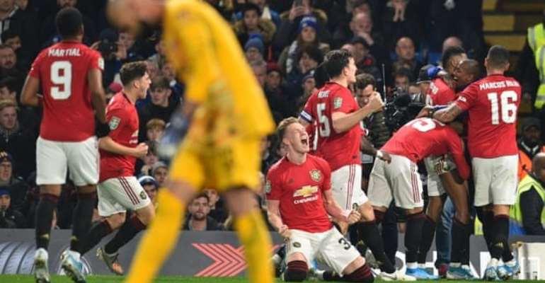 Carabao Cup: Rashford Stunner Sends Man United Through Against Chelsea