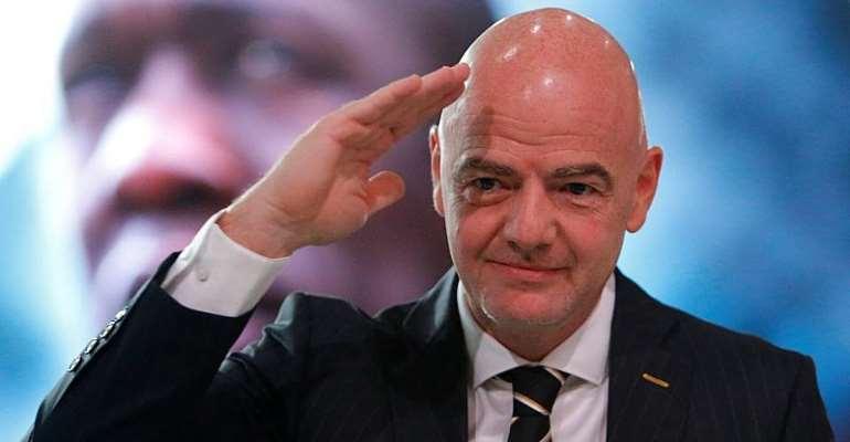 FIFA President Gianni Infantino Congratulates New GFA President