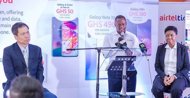 AirtelTigo Business, Samsung Launches 'Flexi Plus Offer'