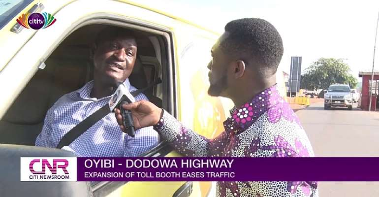 We Won't Pay Tolls — Oyibi Drivers Protest Bad Oyibi-Dodowa Road