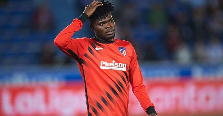 Thomas Partey Features In Atletico Madrid Stalemate With Alaves