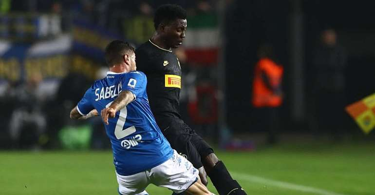 Kwadwo Asamoah Excels As Inter Milan Edge Out Brescia