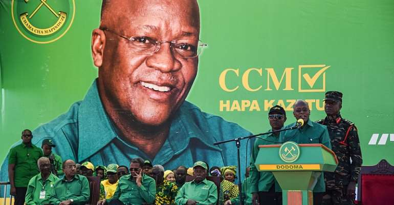 President John Magufuli has closed down all the reliable means to evaluate allegations of foul play.  - Source: Getty Images