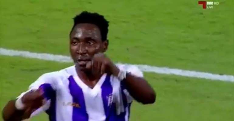 Striker Kofi Kordzi Scores On Muaither SC Debut In Draw Against Al-Shahania