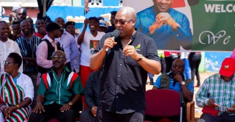 Every Ghanaian Owe GHS9,000 Under Akufo-Addo – Mahama