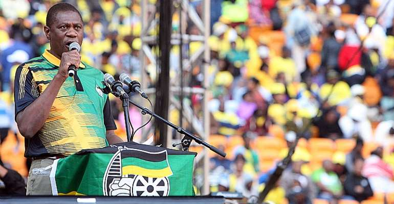 African National Congress treasurer Paul Mashatile wants more money for political parties from the government.  - Source: Antonio Muchave/Sowetan/Gallo Images/Getty Images)