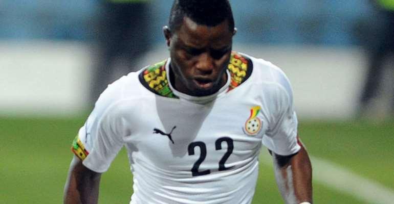 Wakaso Return To Black Stars Team After Missing Mali, Qatar Friendlies