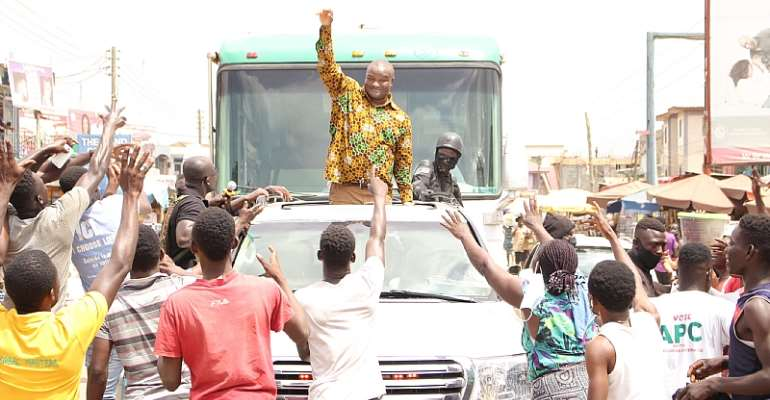 Ghanaians Are Getting Poorer; Vote For APC---Dr. Hassan Ayariga