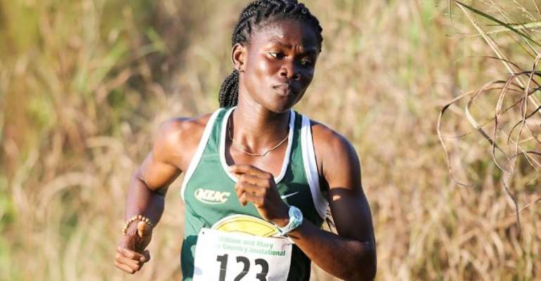 Ghana's Martha Bissah Claims MEAC Cross Country Gold