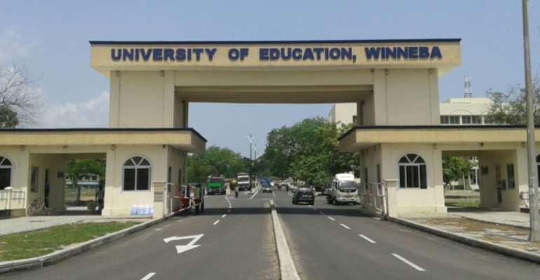 Prof. Avoke And Others, Invade University of Education, Winneba (UEW), With Hired Thugs