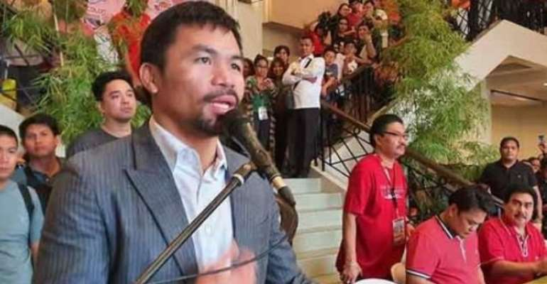 Manny Pacquiao Gives Back: 'We Cannot Bring Our Riches To Our Grave'