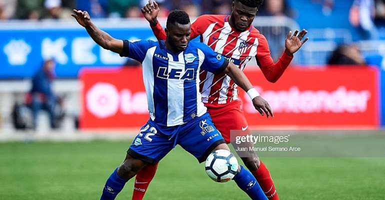 Thomas Partey Charges Atletico Madrid Teammates To Work Hard After Deportivo Alaves Stalemate