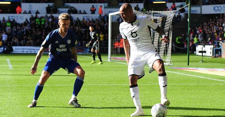 'Let's Build On Derby Win At Wigan' - Andre Ayew Tells Swansea City Teammates