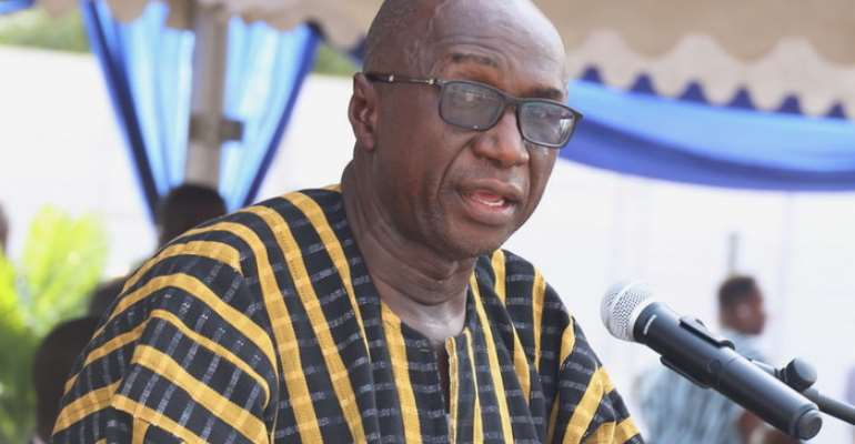 Ambrose Dery, Minister of Interior