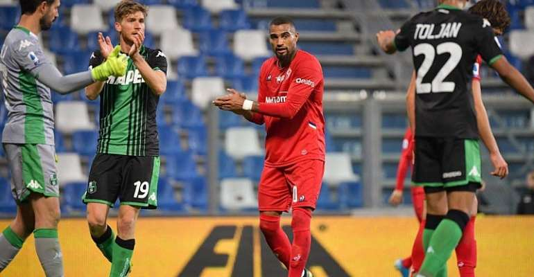 KP Boateng Grateful To Sassuolo