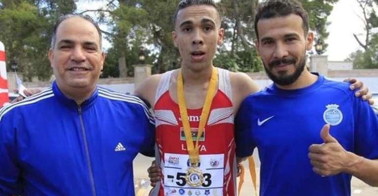 Libyan Footballer Wins Half Marathon Bronze