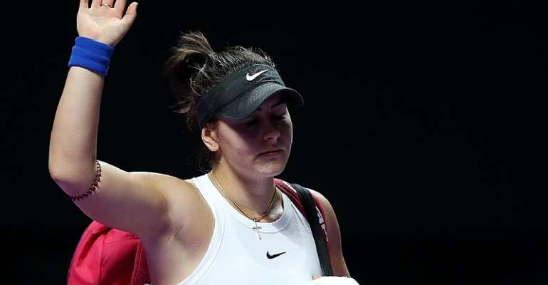 Bianca Andreescu Withdraws From WTA Finals After MRI On Injured Knee