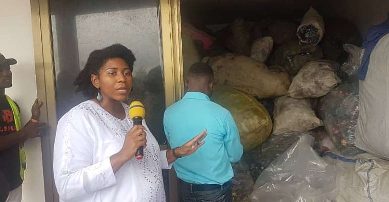 Environment 360 Launches First Plastic Bottle Take Back Center In Ghana
