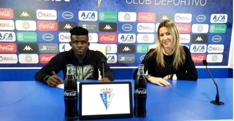 Berekum Chelsea Skipper Zakaria Fuseini Joins Spanish Lower Side San Fernando
